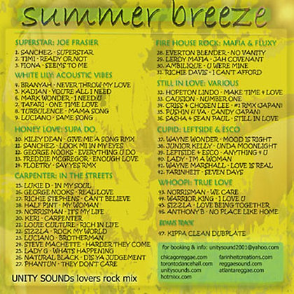 Summer Breeze (Lovers Mix) CD $4.99 / DL $2.99