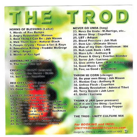 The Trod (Culture Mix) CD $4 99 / DL $2 99