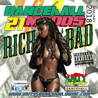 Dancehall Mood 21 (DH Mix) CD $5.99 or DL $2.99