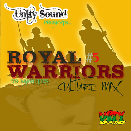 Royal Warriors 5 (Culture Mix) CD $5.99 / DL $2.99