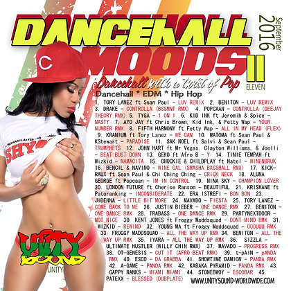 Dancehall Mood 11 (DH Mix) CD $5.99 or DL $2.99