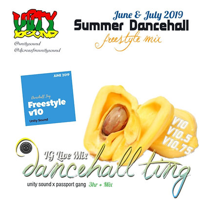 [Single Track Download] Unity Sound - Dancehall Ting v10 - Freestyle Mix 2019