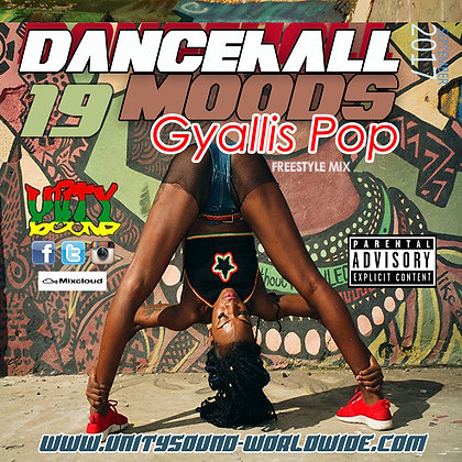 Dancehall Mood 19 (DH Mix) CD $5.99 or DL $2.99