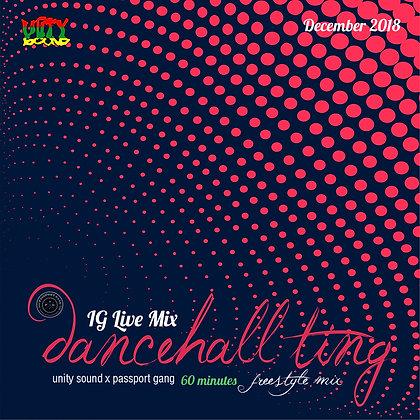 [Single-Track Download] Dancehall Ting v1 - IG Live Mix