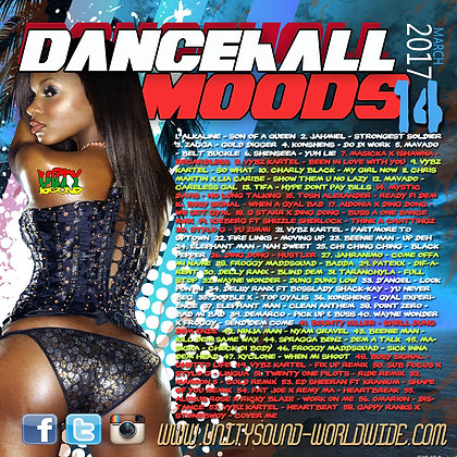 Dancehall Mood 14 (DH Mix) CD $5.99 or DL $2.99