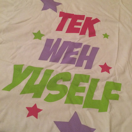 REPJA *Tek Weh Yuself* Mens Tee
