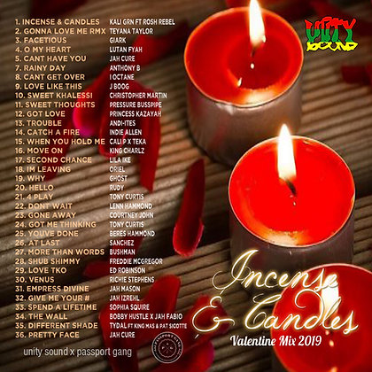 [Single-Track Download] Incense & Candles - IG Live Mix
