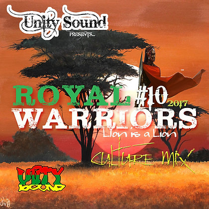 Royal Warriors 10 (Culture) CD $5.99 / DL $2.99