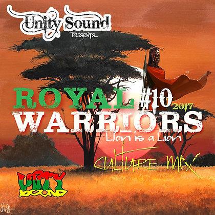 Royal Warriors 10 (Culture) CD $5.99 / DL $2.99