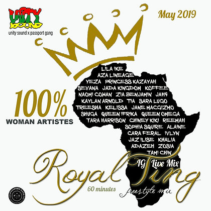 Royal Ting v1 - Lioness Order Mix (Culture) CD $5.99 / DL $0.99