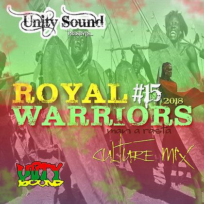 Royal Warriors 15 (Culture) CD $5.99 / DL $2.99
