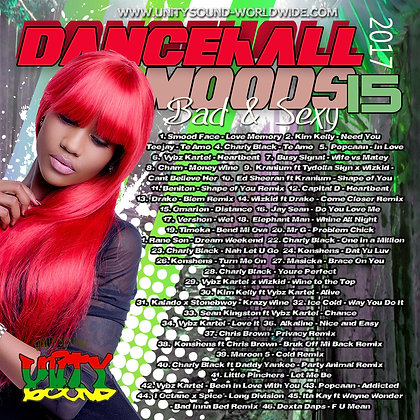 Dancehall Mood 15 (DH Mix) CD $5.99 or DL $2.99