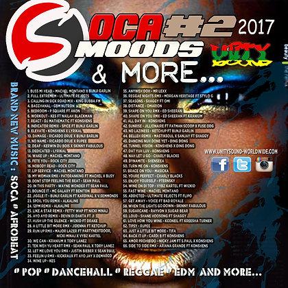 Soca Mood 2 (Soca) CD $5.99 / DL $2.99