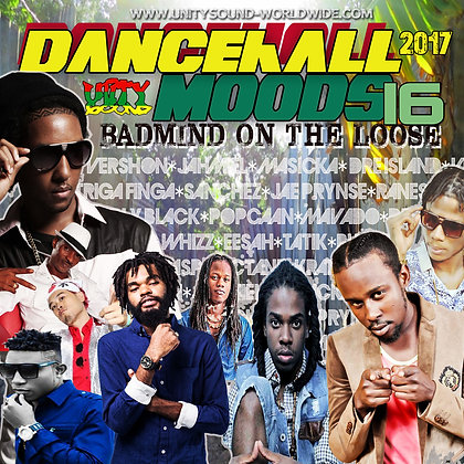 Dancehall Mood 16 (DH Mix) CD $5.99 or DL $2.99