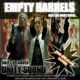Empty Barrels (Dhall Mix) CD $4.99 / DL $2.99