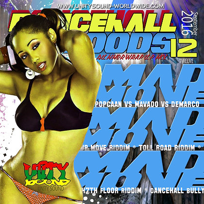 Dancehall Mood 12 (DH Mix) CD $5.99 or DL $2.99
