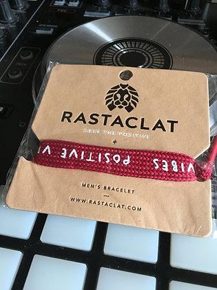 RastaClat Bracelet (One Size) Positive: Red