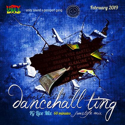 [Single-Track Download] Dancehall Ting v3 - IG Live Mix - Feb 2019