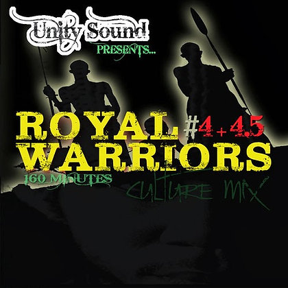 Royal Warriors 4 (Culture Mix) CD $6.99 / DL $2.99