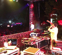 DJ Crossfire at Dream Weekend, JA