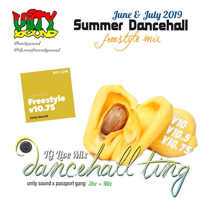 [Single Track Download] Unity Sound - Dancehall Ting v10.75 - Freestyle Mix 2019