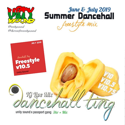 [Single Track Download] Unity Sound - Dancehall Ting v10.5 - Freestyle Mix 2019