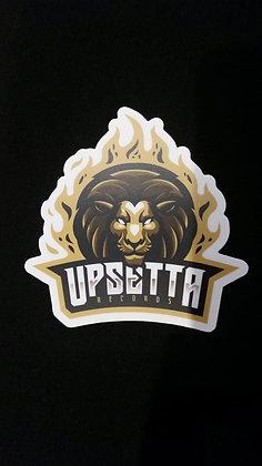 Upsetta Records Decal (single)