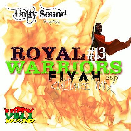 Royal Warriors 13 (Culture) CD $5.99 / DL $2.99