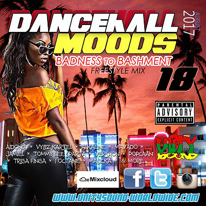 Dancehall Mood 18 (DH Mix) CD $5.99 or DL $2.99