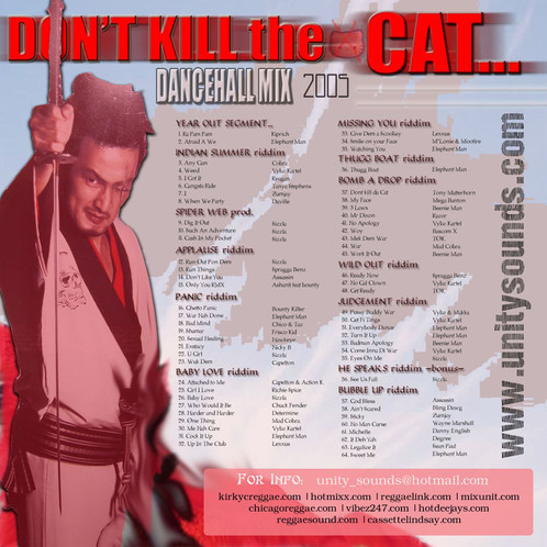 Don't Kill the Cat (Dhall Mix) CD $4 99 / DL $2 99