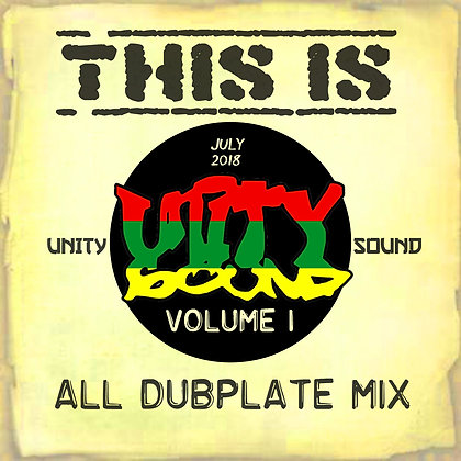 This is Unity Sound v1 (dubs) CD $5.99 / DL $2.99