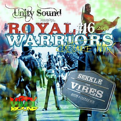 Royal Warriors 16 (Culture) CD $5.99 / DL $2.99