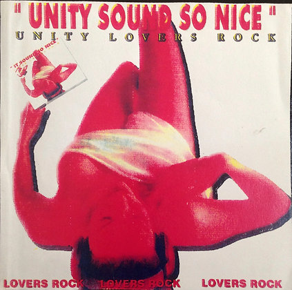 Unity So Nice (Lovers Mix) CD $4.99 / DL $2.99