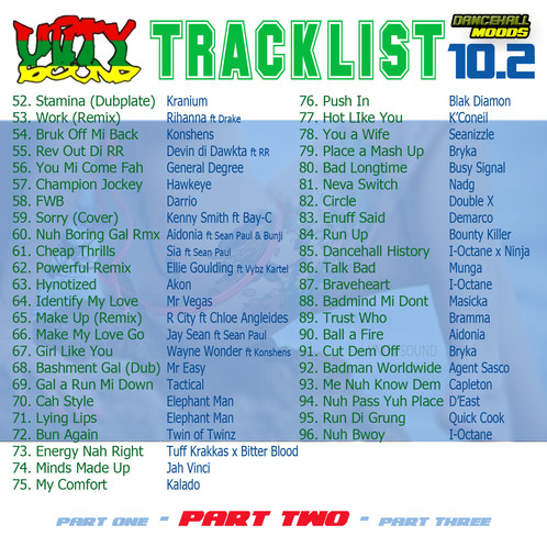 Dancehall Mood 10 (DH Mix) CD $7 99 or DL $3 99