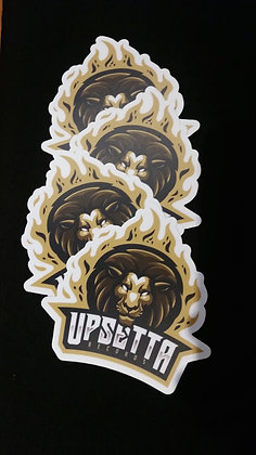 Upsetta Records Decal 4 Pack