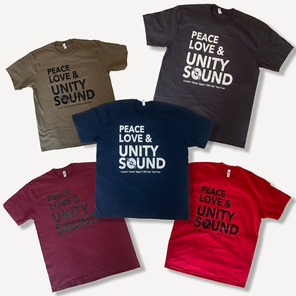 Peace Love & Unity Sound Tee (Series Two)