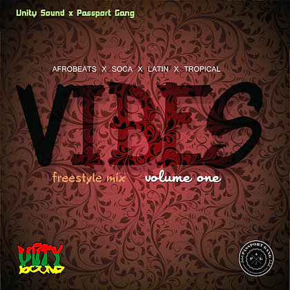 Vibes V1 (Afrobeats & more) $5.99 CD / $2.99 DL