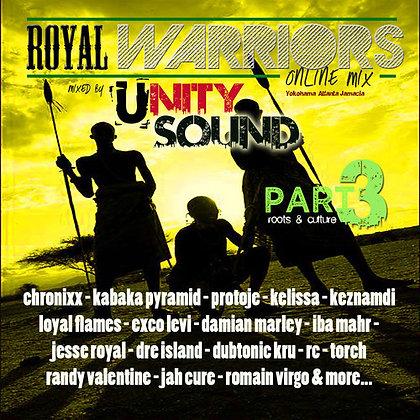 Royal Warriors 3 (Culture Mix) CD $5.99 / DL $2.99