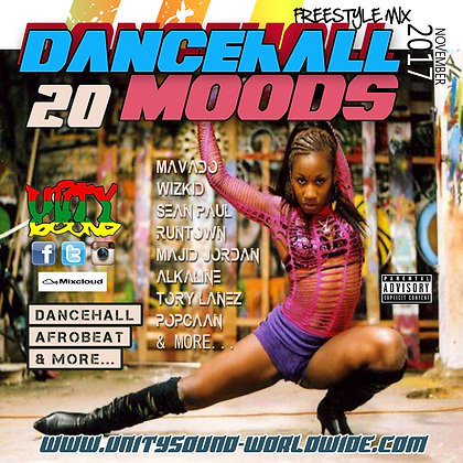 Dancehall Mood 20 (DH Mix) CD $5.99 or DL $2.99