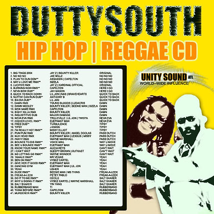 Dutty South v1 (Remix Mix) CD $4.99 / DL $2.99