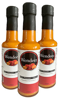 3X Wendeez Hot Pepper Sauce