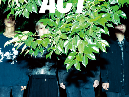 1st mini album『ACT』詳細解禁!!!