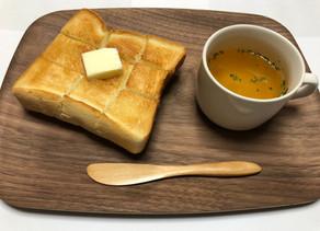 朝食にトーストメニューを追加!