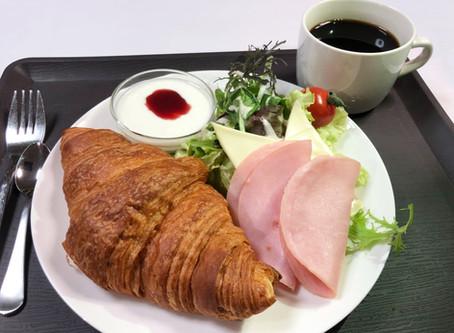 朝食サービススタート!