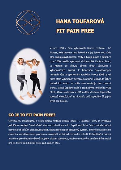 FIT PAIN FREE - Hana Toufarová