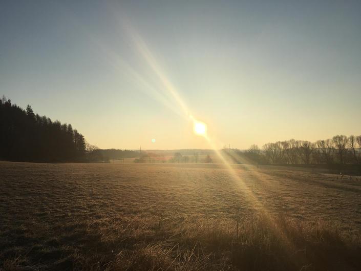 Východ Slunce nad Královstvím Nové Země