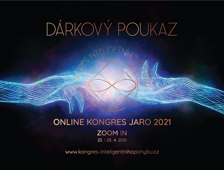 Dárkový poukaz ONLINE KONGRES JARO 2021