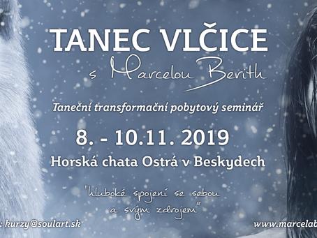 Tanec Vlčice 8. - 10.11. 2019 v Beskydech