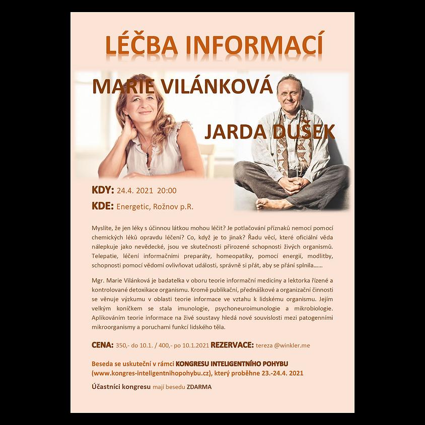 BESEDA : LÉČBA INFORMACÍ - Marie Vilánková