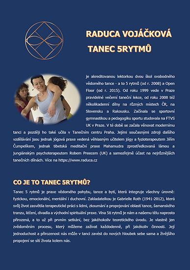 TANEC 5RYTMŮ - Raduca Vojáčková